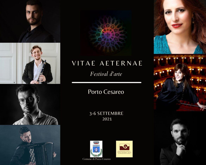 Festival 'Vitae Aeternae' a settembre la prima edizione